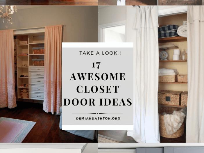 Awesome Closet Door Ideas