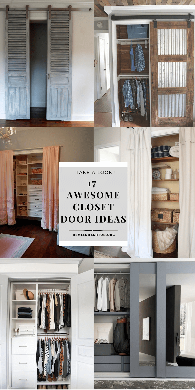 17 Awesome Closet Door Ideas To Make The Space More Unique David On Blog