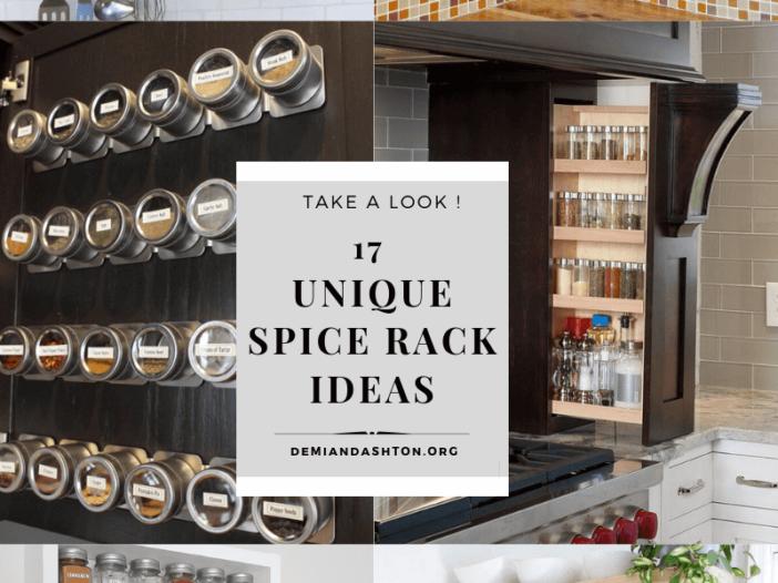 UNIQUE SPICE RACK IDEAS