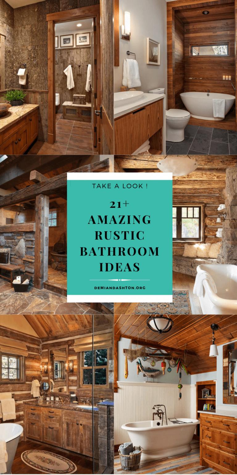 Unbelievable Rustic Bathroom Ideas