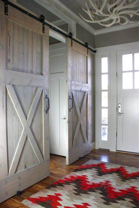 barn door decorating ideas