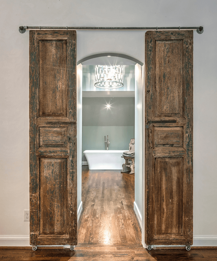 barn door ideas for bathroom