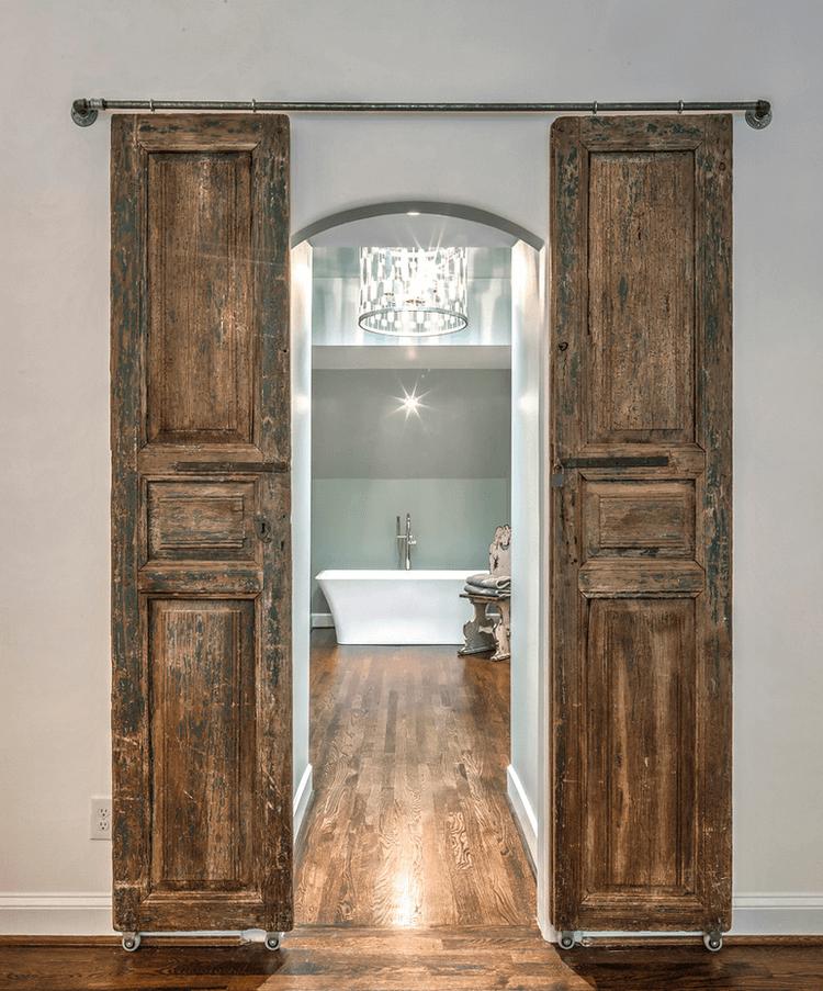 barn door ideas for bathroom