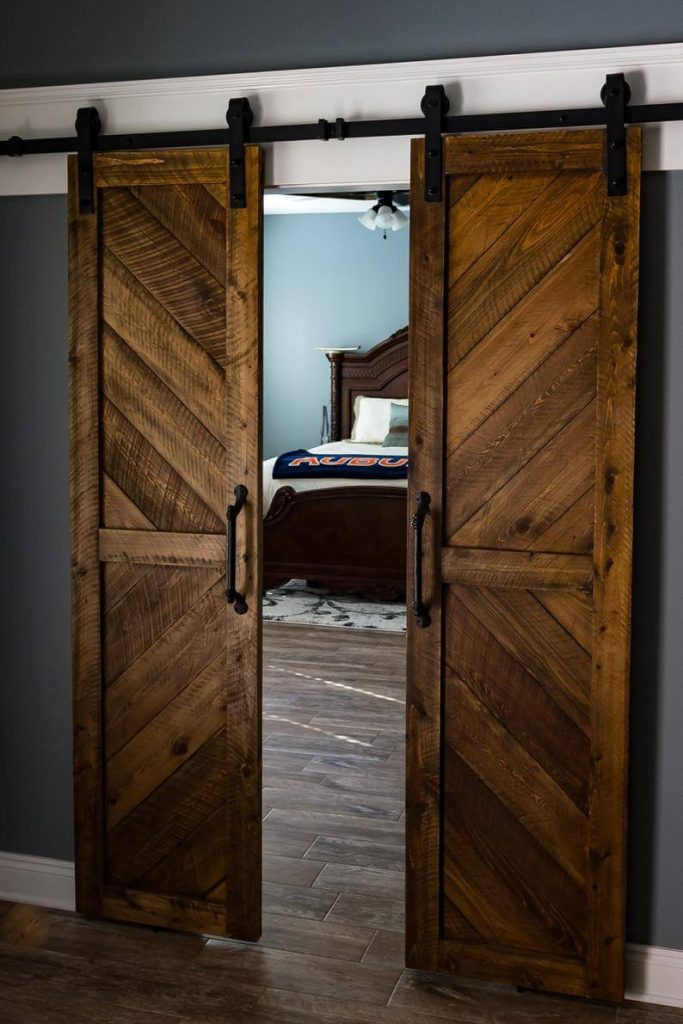 barn door ideas for bedroom