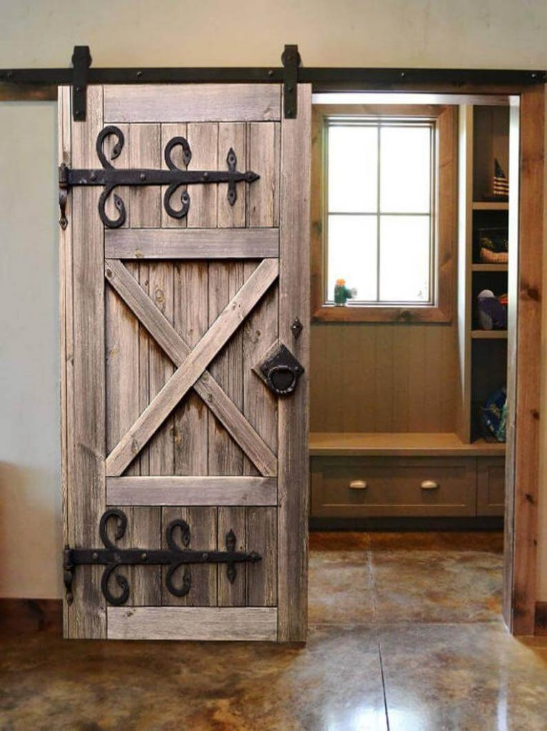 barn door ideas for closet