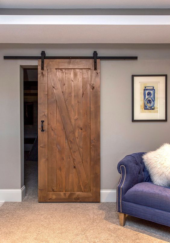 barn door trim ideas