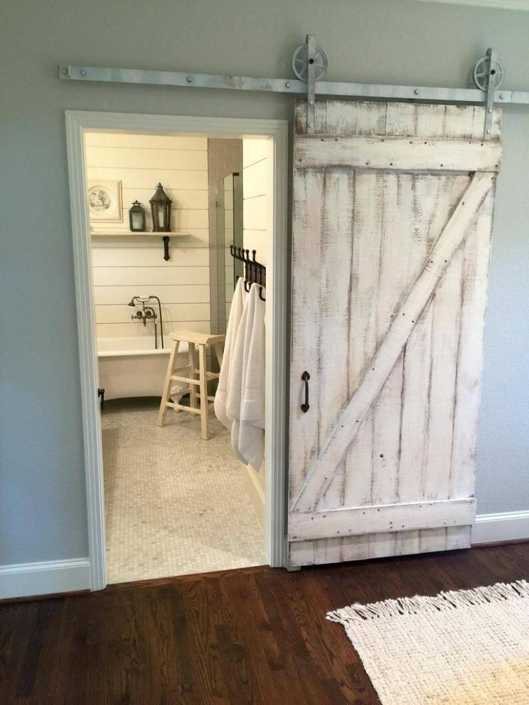 barn door wall decor ideas