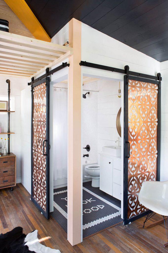 bathroom barn door ideas