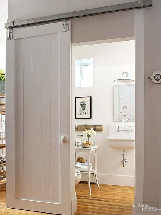 bathroom door decoration ideas