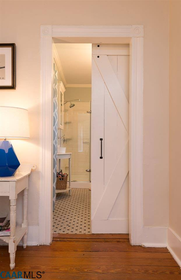 bathroom door ideas for small bathrooms
