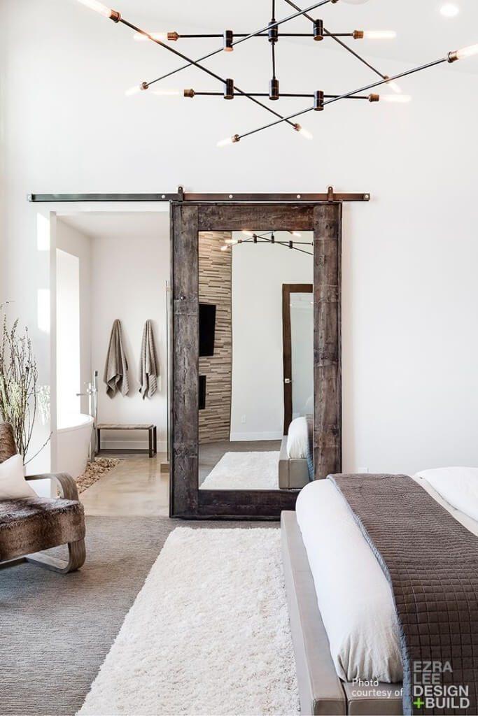 bathroom door mirror ideas