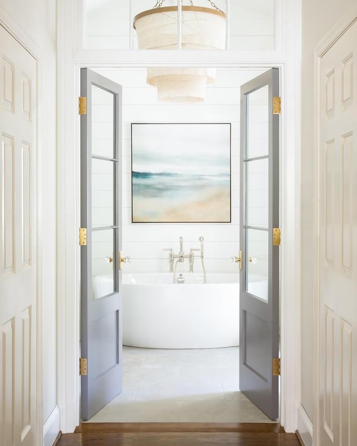 bathroom shower ideas no door