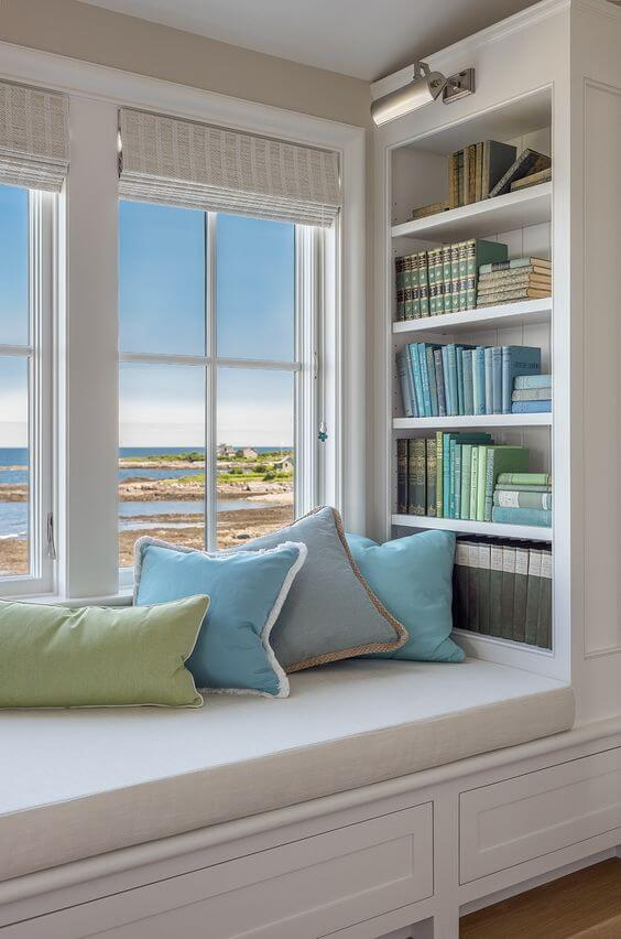 bay window seat cushion ideas