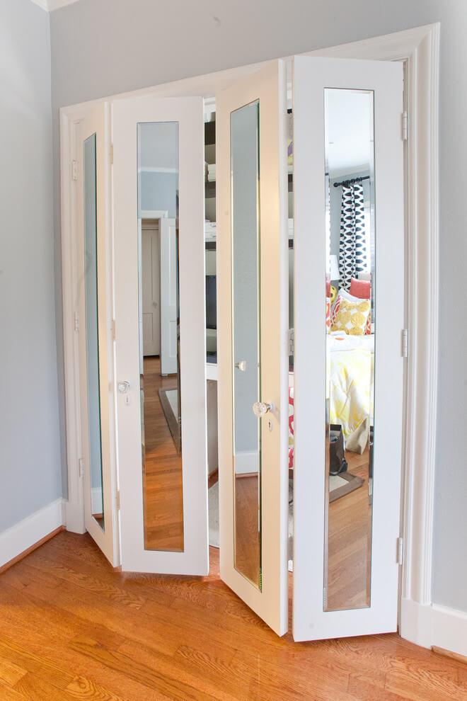 bi fold closet door ideas