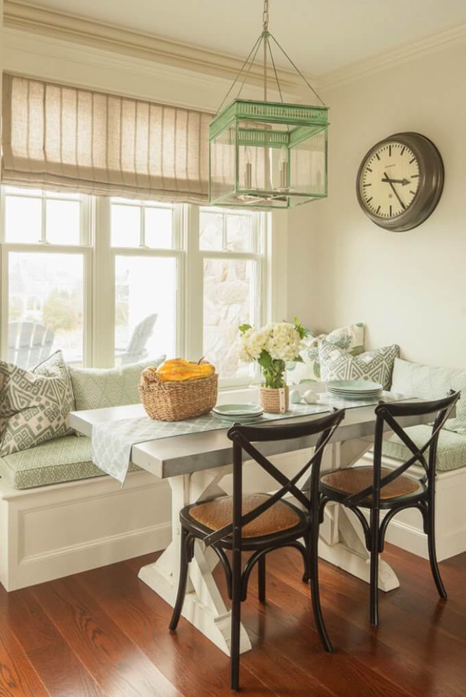 breakfast nook ideas small spaces