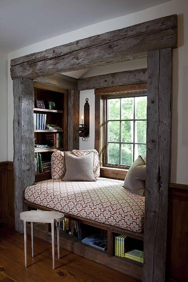 corner window seat ideas