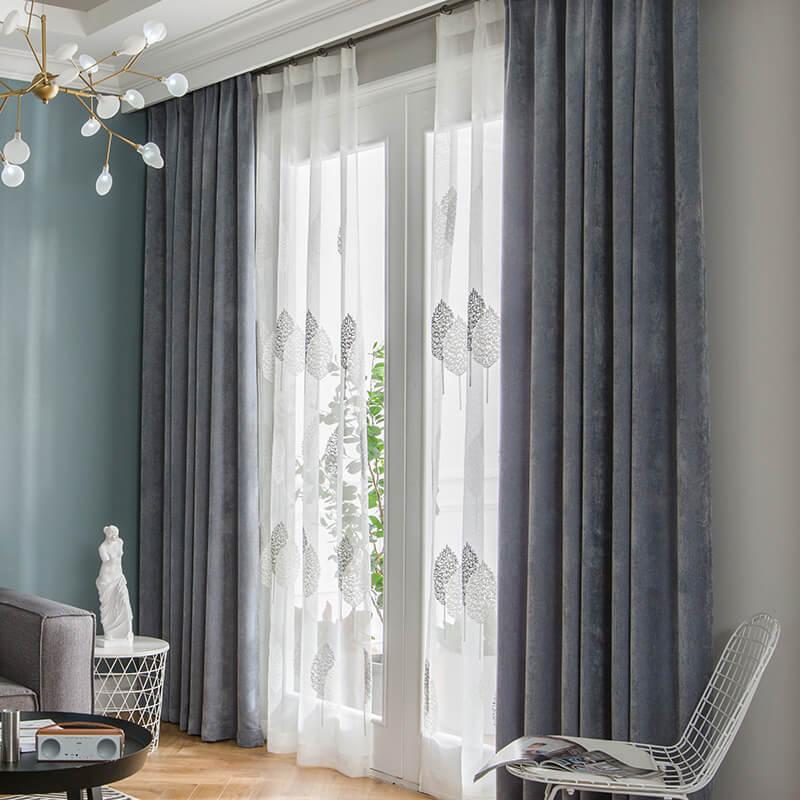 curtain big window ideas