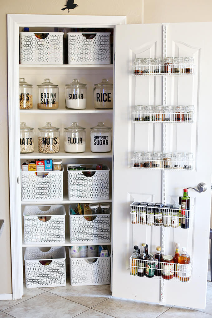 food storage ideas no pantry