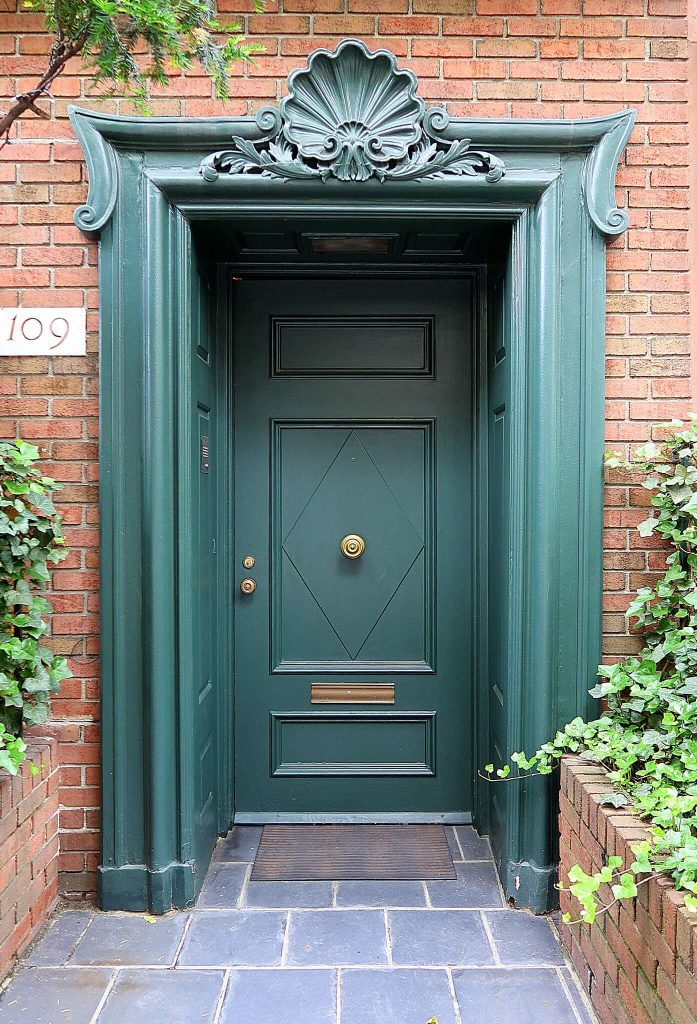 front door covering ideas