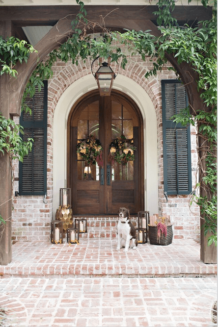 front door ideas for christmas