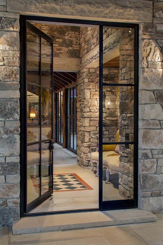front door molding ideas