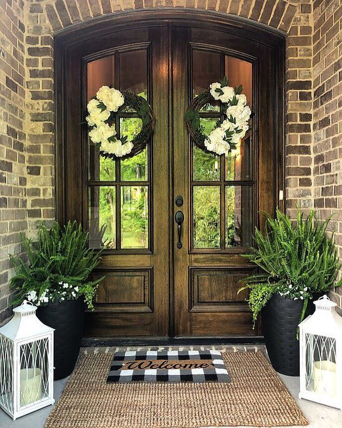 front door plant ideas