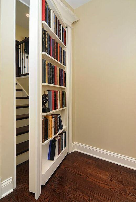 hidden door bookcase ideas