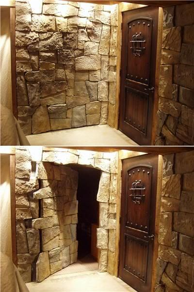 hidden room door ideas
