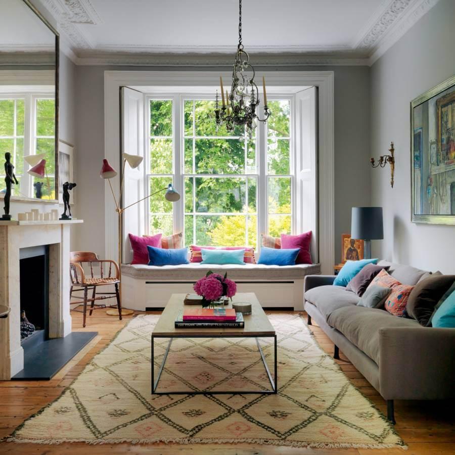 ideas for window seat area