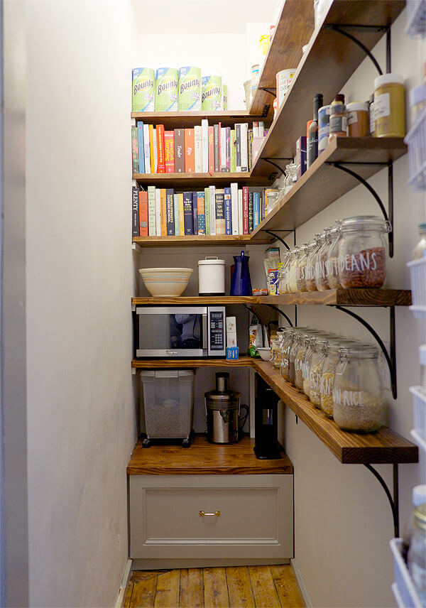 inexpensive pantry storage ideas