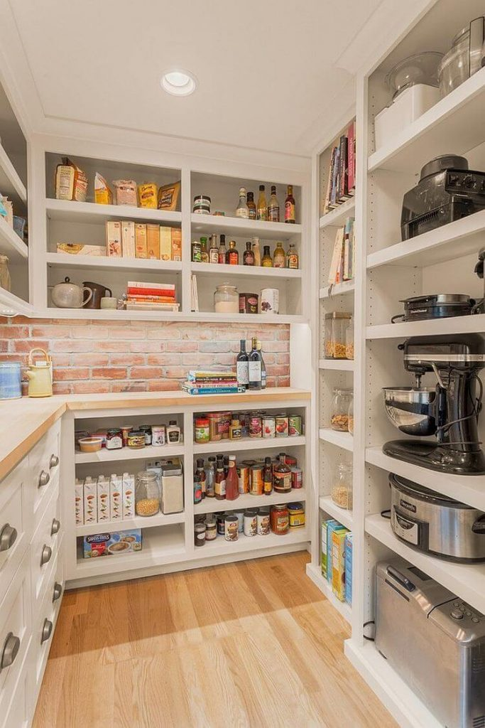 kitchen corner pantry storage ideas
