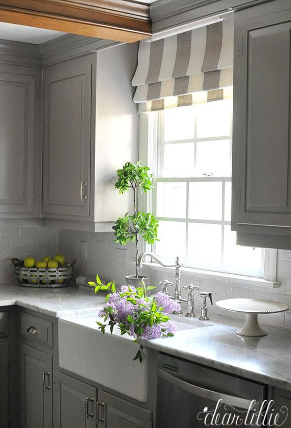 kitchen window shelves ideas
