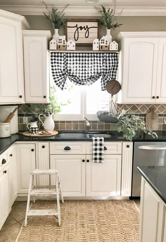 kitchen window treatment ideas pictures