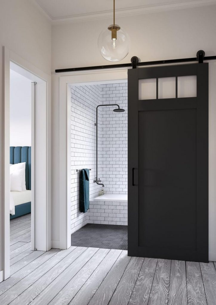 master bathroom door ideas