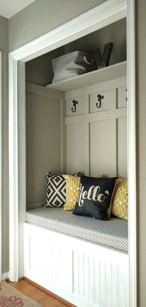 no closet door ideas