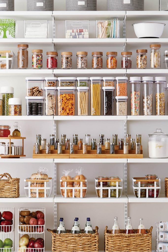 open pantry storage ideas