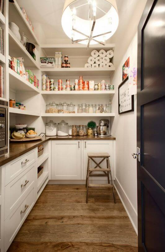 pantry storage design ideas