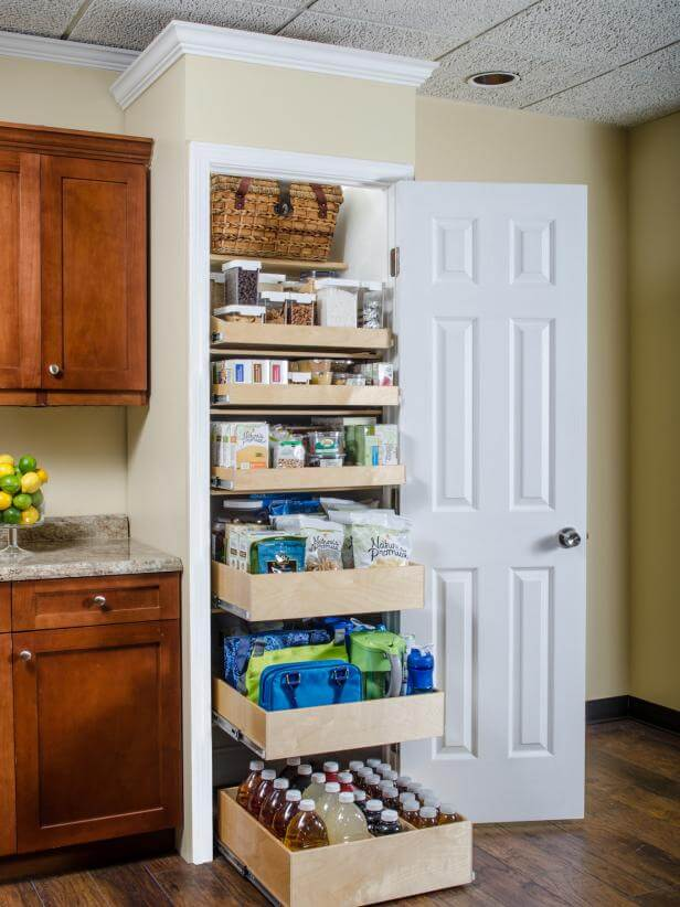 storage ideas for small pantry