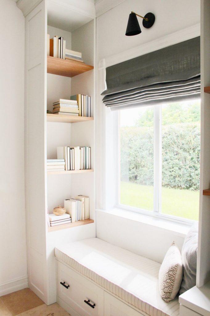 sunroom window seat ideas