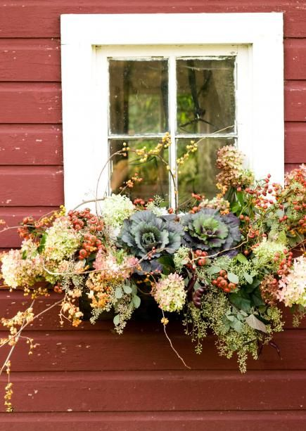 window box liner ideas