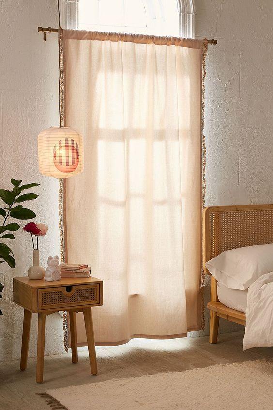 window curtain ideas bedroom