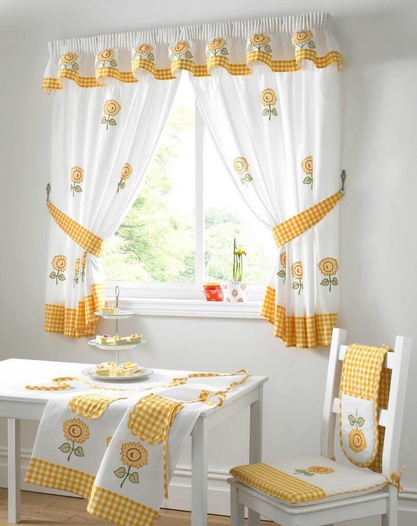 window curtain ideas kitchen