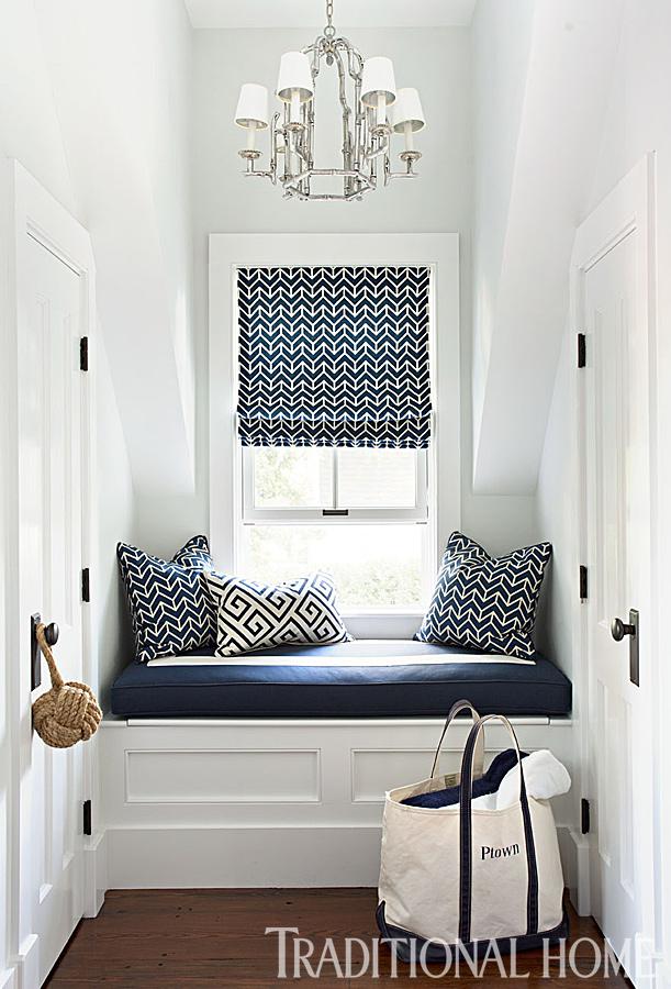 window seat fabric ideas
