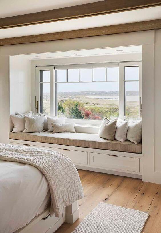 window seat ideas bedroom