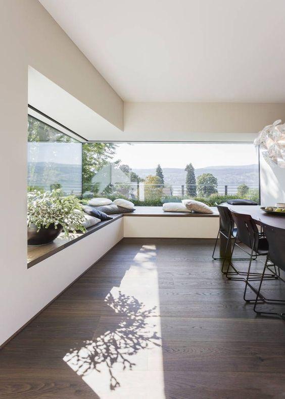 window seat ideas for kitchen