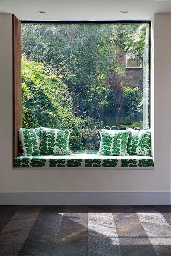 window seat pillow ideas