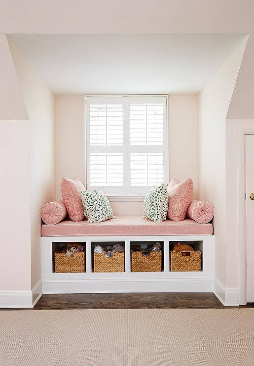 window seat storage ideas