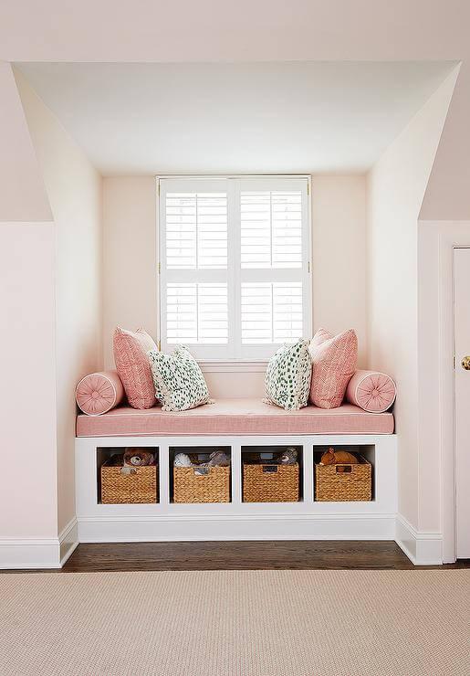 window seat storage ideas