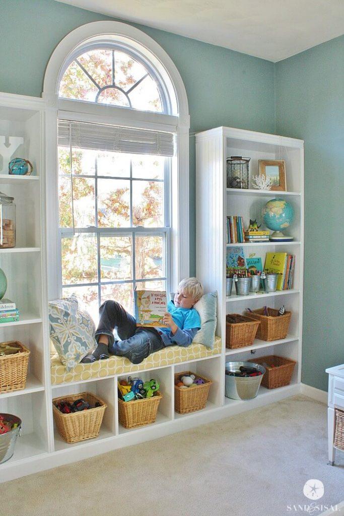 window seat treatment ideas