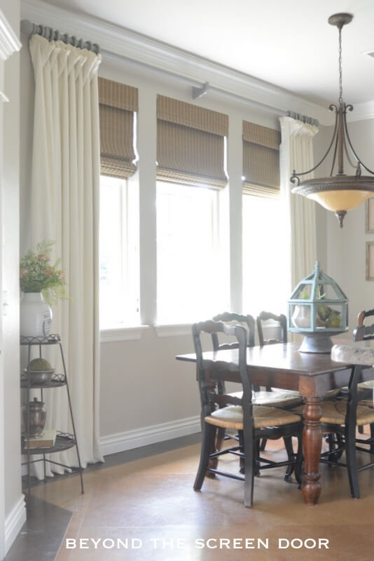 window treatment ideas large windows